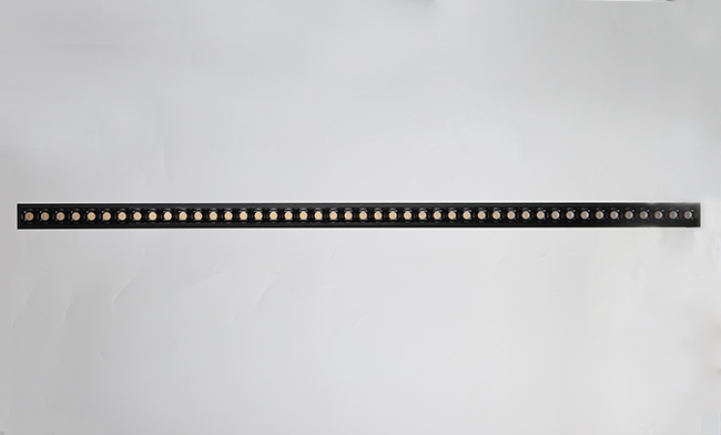 1200*43*75mm LED铝材吊装智能办公灯 45W