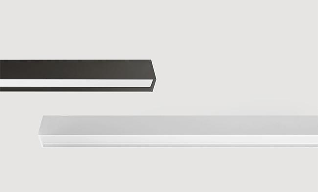 30W 1200X43X75mm LED铝材吊装智能办公灯