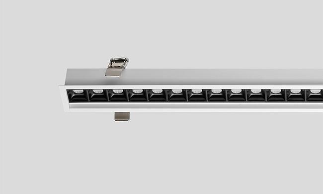 1208X56X35mm LED铝材嵌装智能办公灯 45W