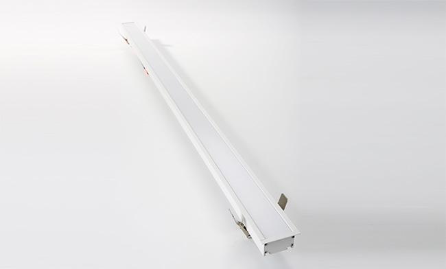 40W 1205X65X33mm LED铝材嵌装智能办公灯