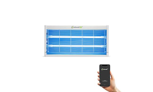 华辉照明智能壁挂式紫外线杀菌消毒灯20W