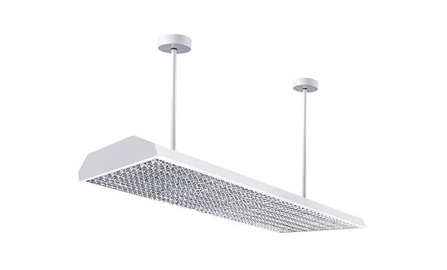 底发光LED护眼教室灯1200x300x130mm36w