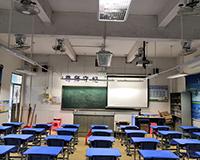 佛山顺德勒流大晚小学教室照明改造